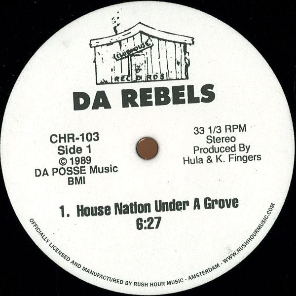 "House Nation Under A Groove (New 12"")"