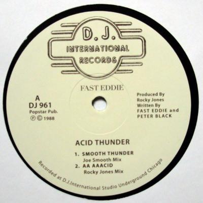 "Acid Thunder (New 12"")"