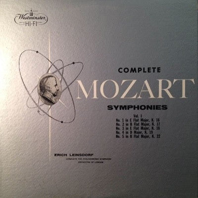 Complete Mozart Symphonies (Used LP)