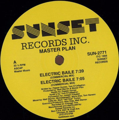 "Electric Baile (New 12"")"