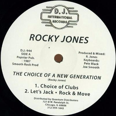 "The Choice Of A New Generation (New 12"")"