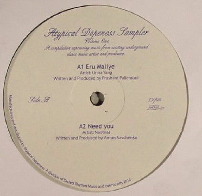 "Atypical Dopeness Sampler Volume One (New 12"")"