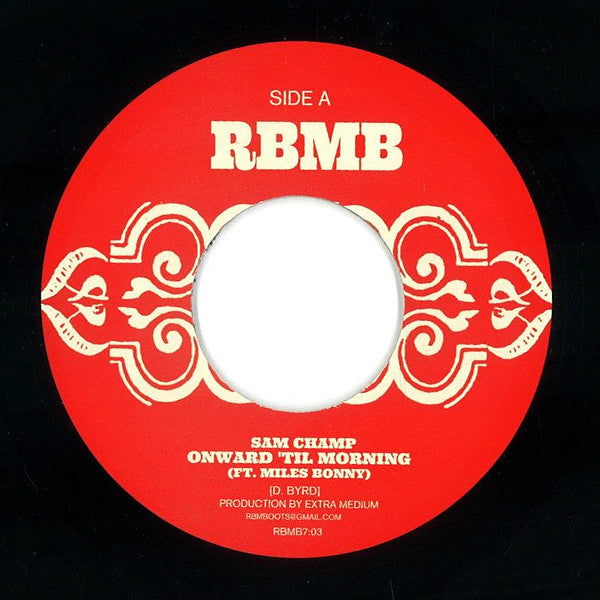 "Onward 'Til Morning / Red Clay (New 7"")"