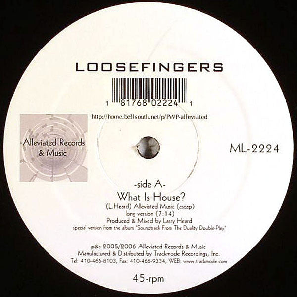 "What is House? (New 12"")"