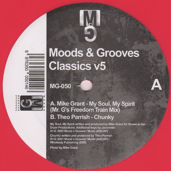"Moods & Grooves Vol. 5 (New 12"")"