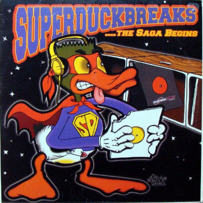 Super Duck Breaks ...The Saga Begins (New LP)