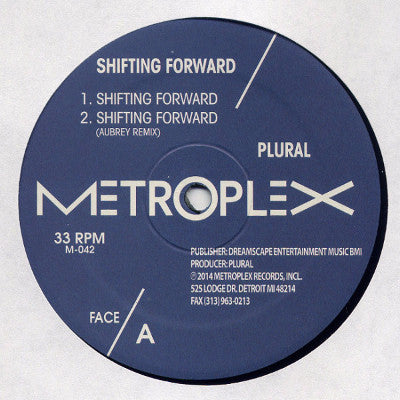 "Shifting Forward (New 12"")"