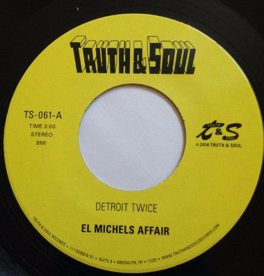 "Detroit Twice / Too Late To Turn Back (New 7"")"