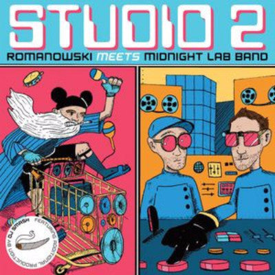 "Studio 2 Romanowski Meets Midnight Lab Band (New 7"")"