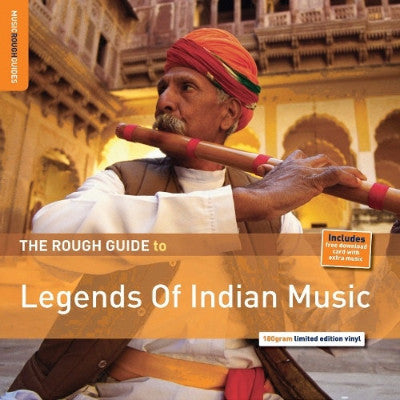 The Rough Guide To Legends Of Indian Music (180 Gram Limited Edition Vinyl) (New LP + Download)