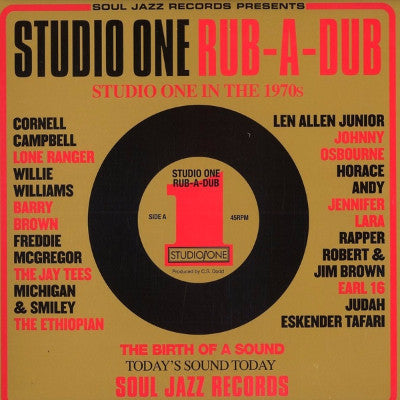 Studio One Rub-A-Dub (New 2LP + Download)