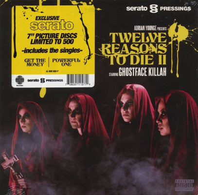 "Twelve Reasons To Die II (Serato Control Vinyl) (New 2 x 7"")"