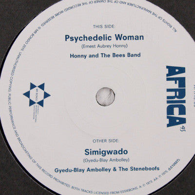 "Psychedelic Woman (New 7"")"