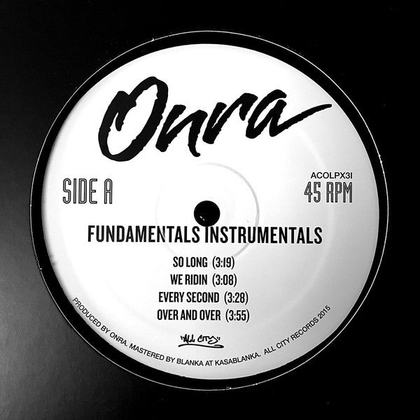 Fundamentals (Instrumentals) (New LP)
