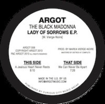 "Lady Of Sorrows E.P. (New 12"")"