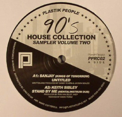 "90's House Collection Sampler Volume Two (New 12"")"