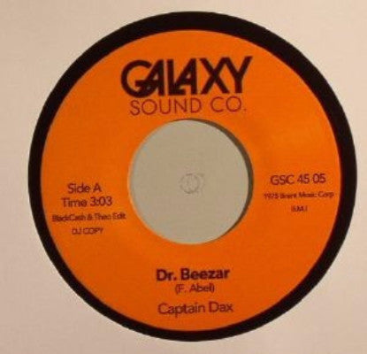 """Dr Beezer"" (BackCash & Theo edit) / ""I Feel Funky"" (BackCash & Theo edit) (New 7"")"