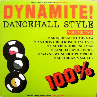 Dynamite! Dancehall Style Volume Two (Used 2LP)