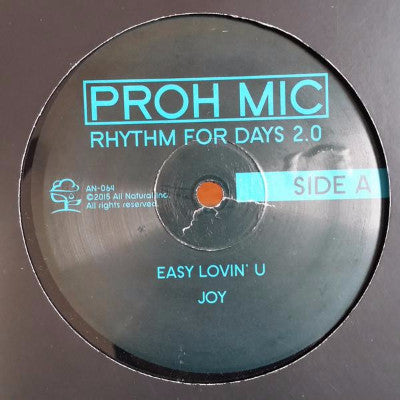"Rhythm for Days 2.0 (New 12"")"