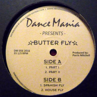 "Butter Fly (New 12"")"