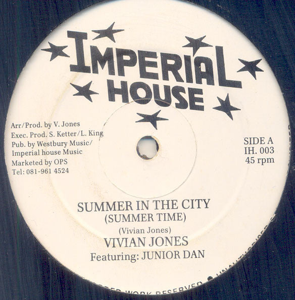 "Summer in the City (New 12"")"