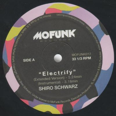 "Electrify / Breeze (New 12"")"