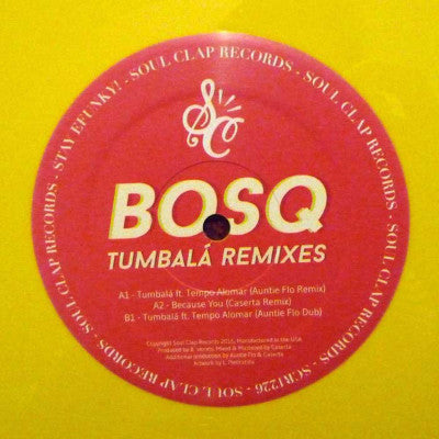 "Tumbalá (Remixes) (New 12"")"