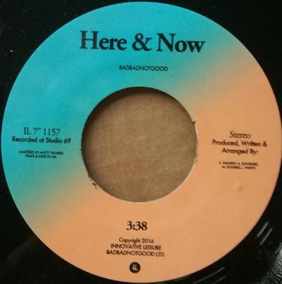 "Here & Now / Timewave Zero (New 7"")"