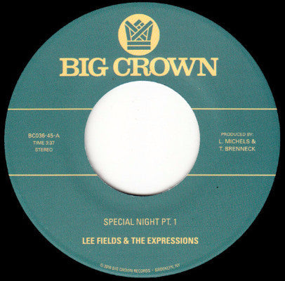 "Special Night (New 7"")"