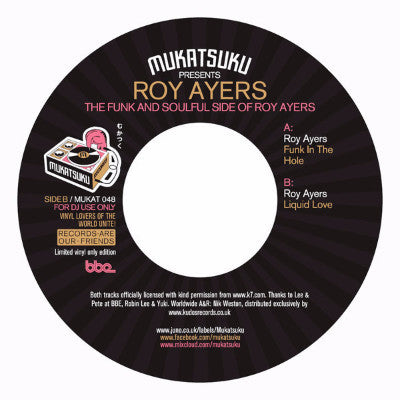 "The Funk And Soulful Side Of Roy Ayers (New 7"")"