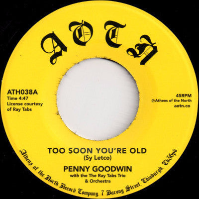 "Too Soon You're Old (New 7"")"