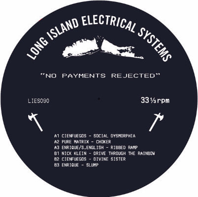 "No Payments Rejected (New 12"")"