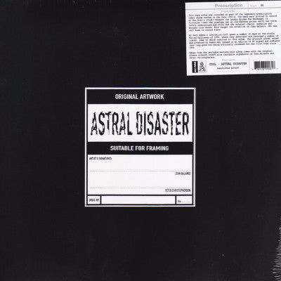 Astral Disaster (New LP)