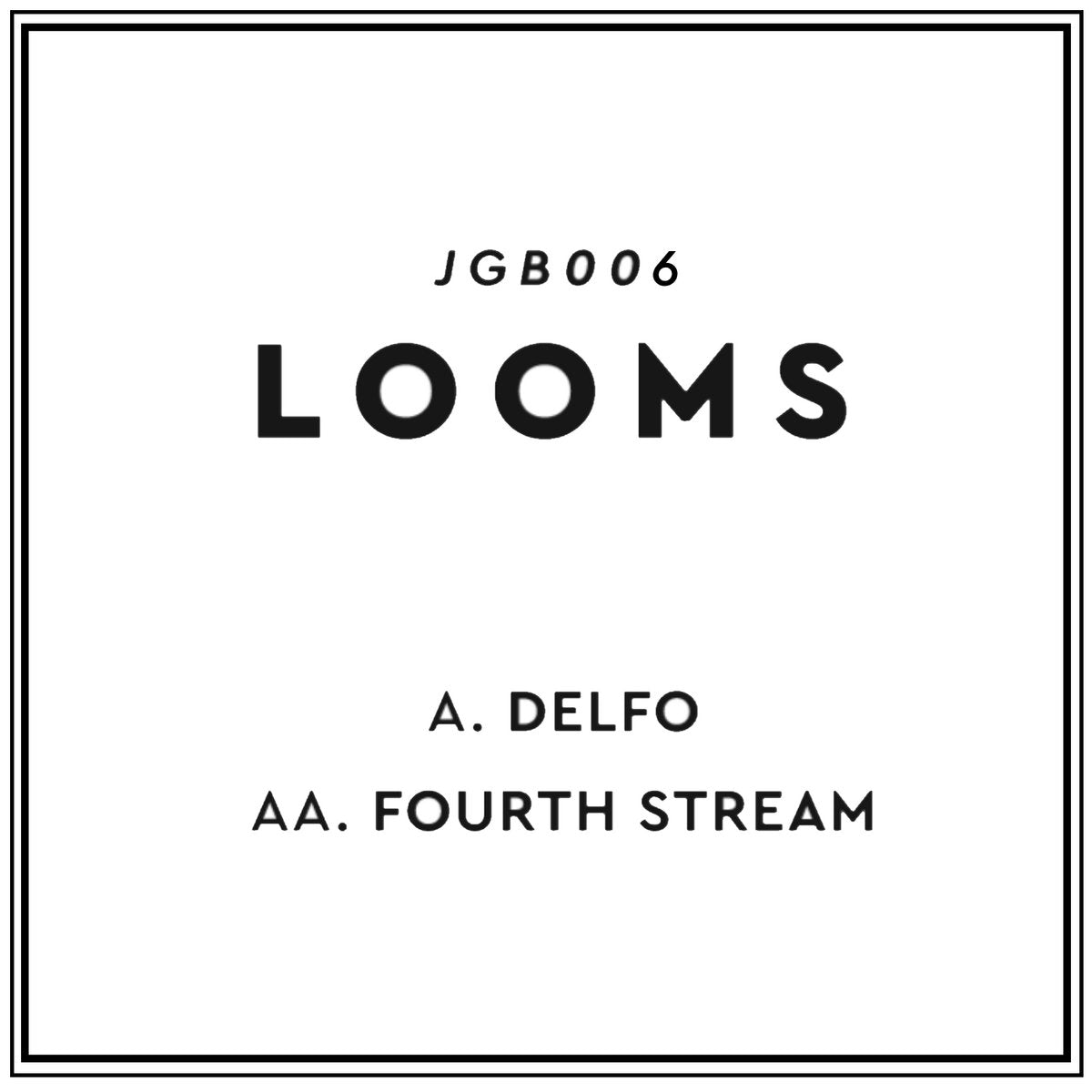 "DELFO / FOURTH STREAM (New 7"")"