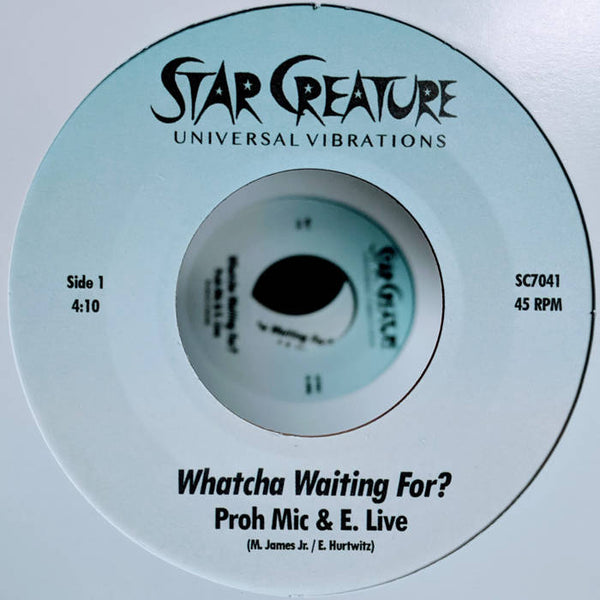 "Whatcha Waiting For? b/w Baby I Got It (New 7"")"