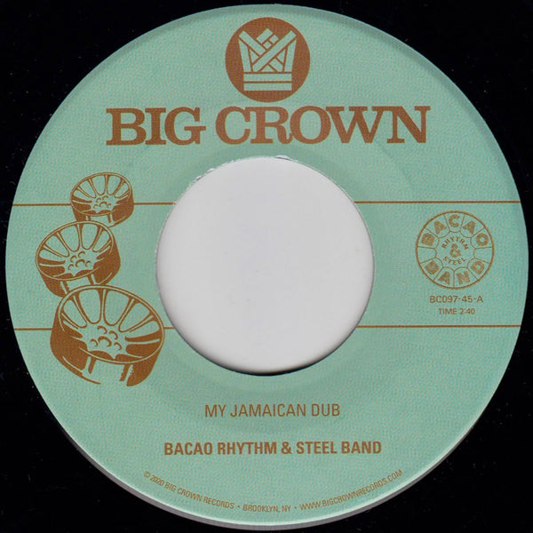 "My Jamaican Dub b/w The Healer (New 7"")"