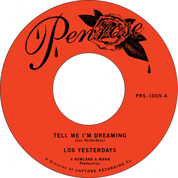 "Tell Me I'm Dreaming b/w Time (New 7"")"