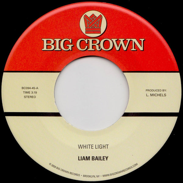"White Light b/w Cold & Clear (New 7"")"