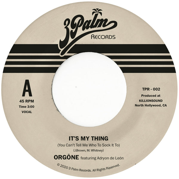"It's My Thing (New 7"")"