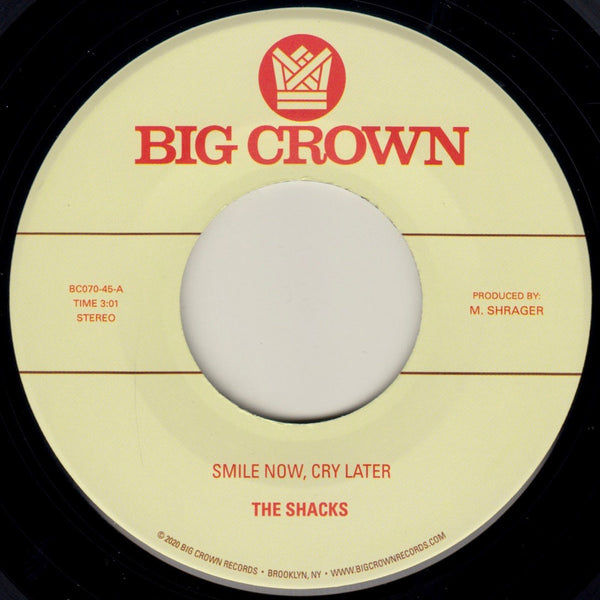 "Smile Now, Cry Later b/w Runaway (New 7"")"