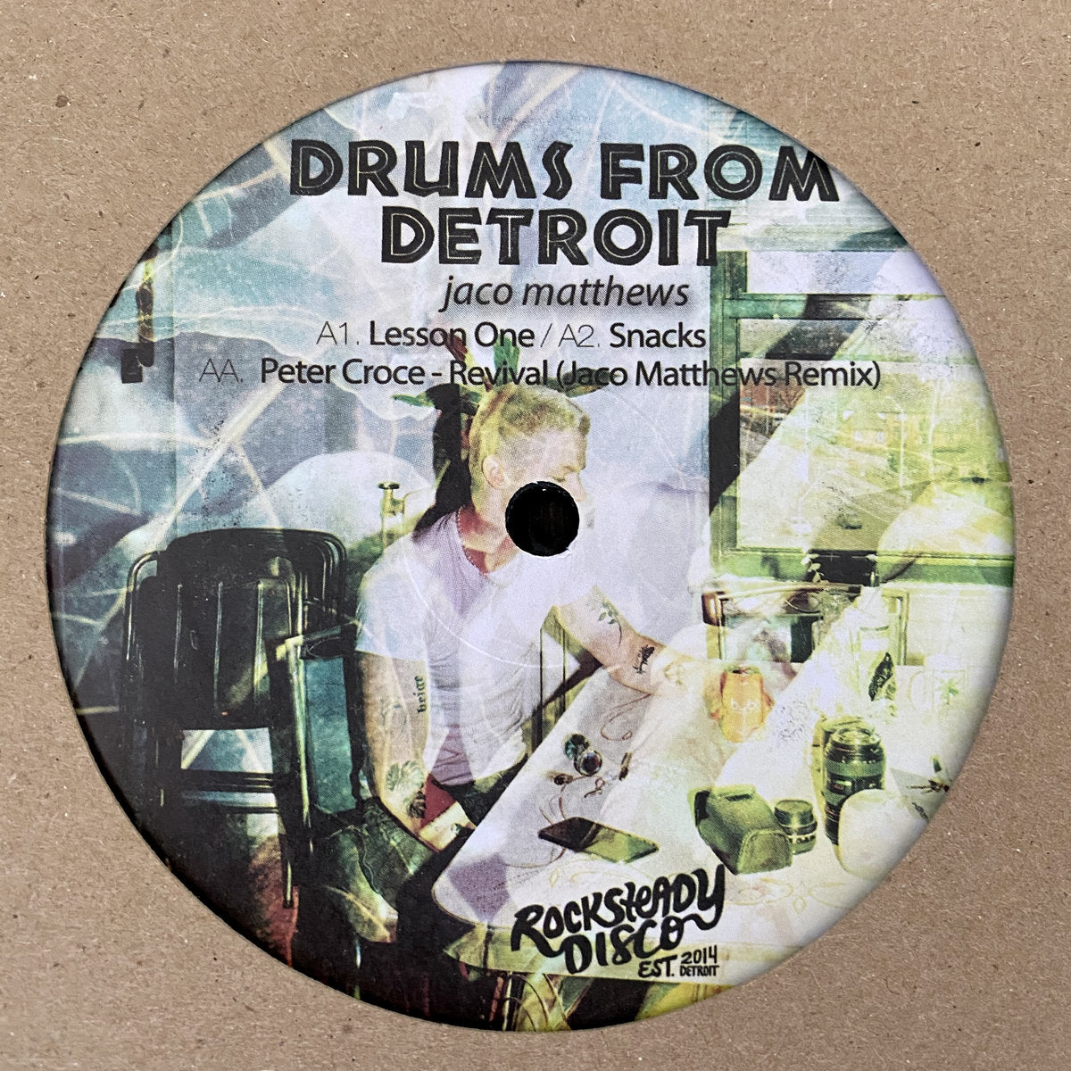 "Drums From Detroit (New 12"")"