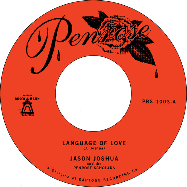 "Language of Love b/w La Vida Es Fría (New 7"")"