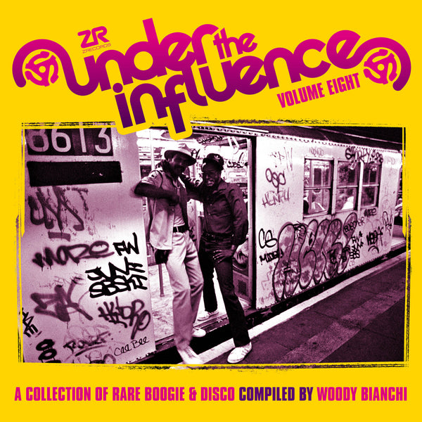 Under The Influence Vol.8 compiled By Woody Bianchi (New 2LP)