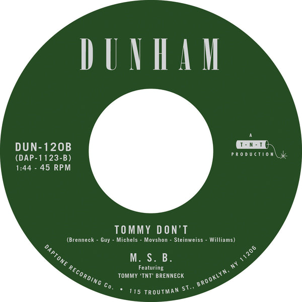 "There's A New Day Coming / Tommy Don't (New 7"")"