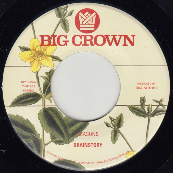 "Seasons b/w Bye Bye (New 7"")"