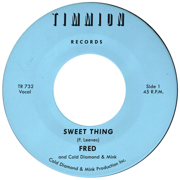 "Sweet Thing (New 7"")"