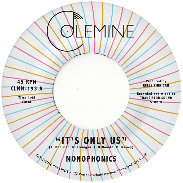 "It's Only Us (New 7"")"