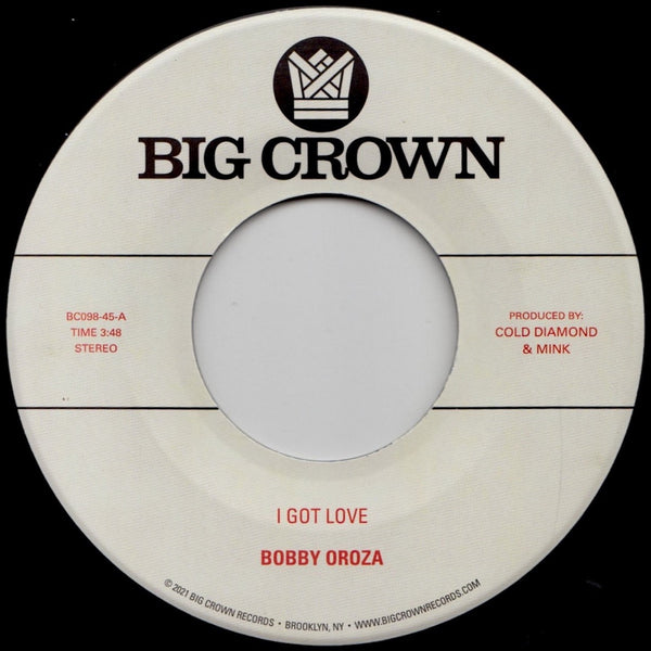 "I Got Love b/w Loving Body (New 7"")"