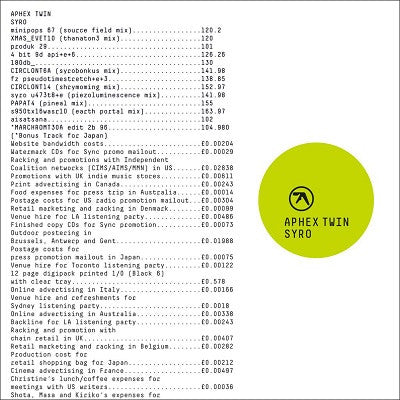 Syro (New 3LP + Download)