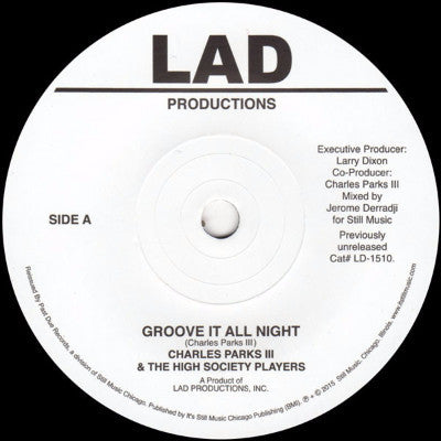 "Groove It All Night (New 7"")"